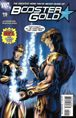 Booster Gold Time Travel