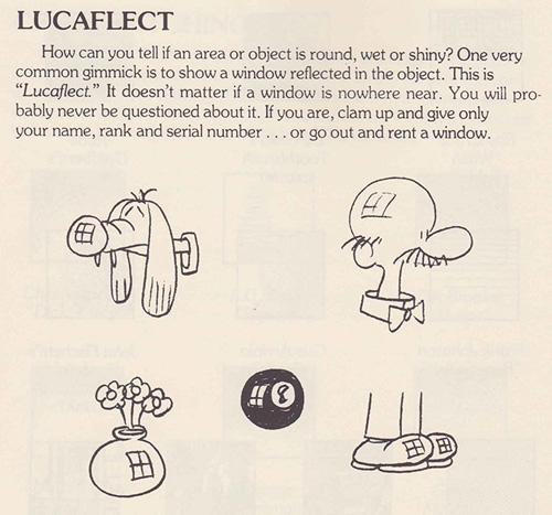 Lexicon-Lucaflect