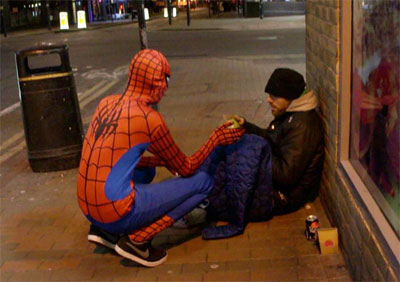 Spidey-Compassion